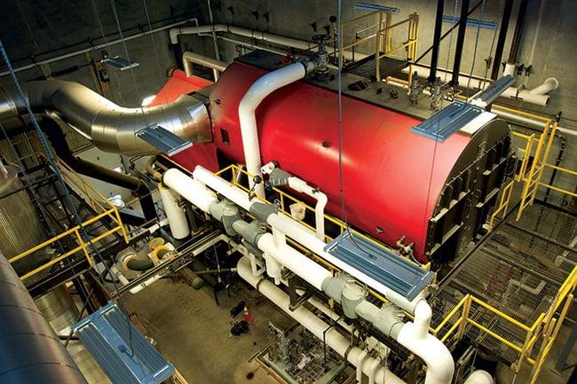 Gundersen Health System Biomass Boiler