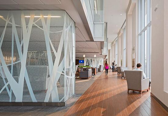 OhioHealth Riverside Methodist Hospital Neuroscience Center Lobby