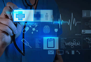IoT in healthcare.