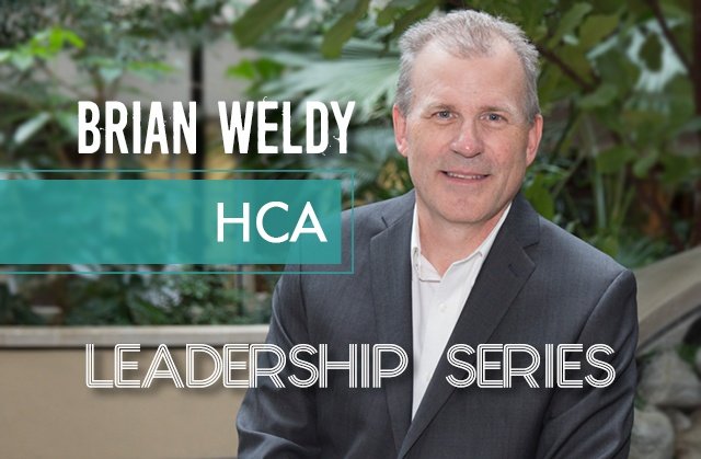 Leadership Series: Brian Weldy, HCA