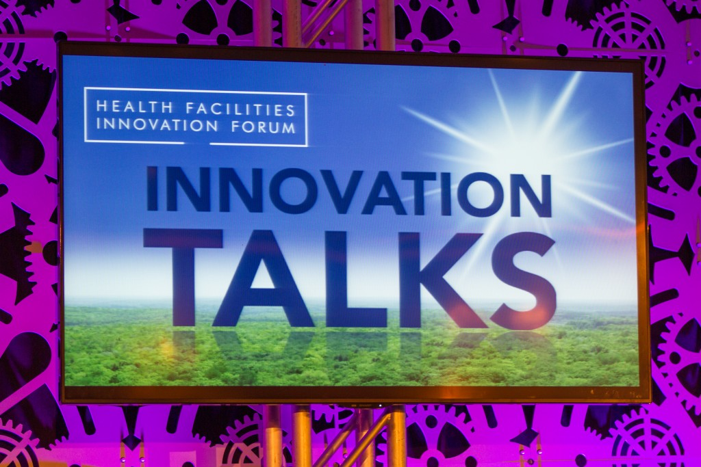 Innovation Talks - Brian Weldy - Health Facilities Innovation Forum